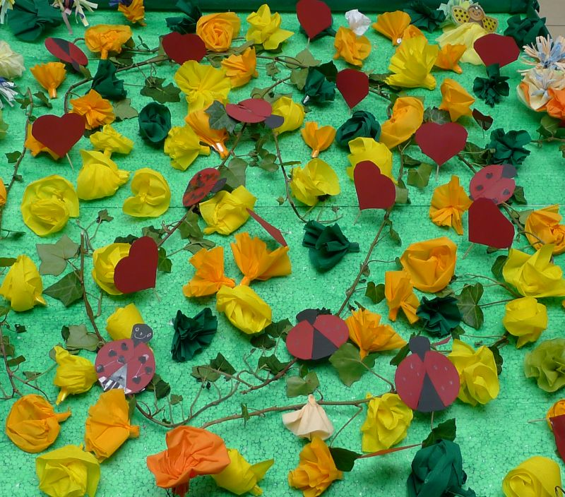 Blumenwiese zu Muttertag