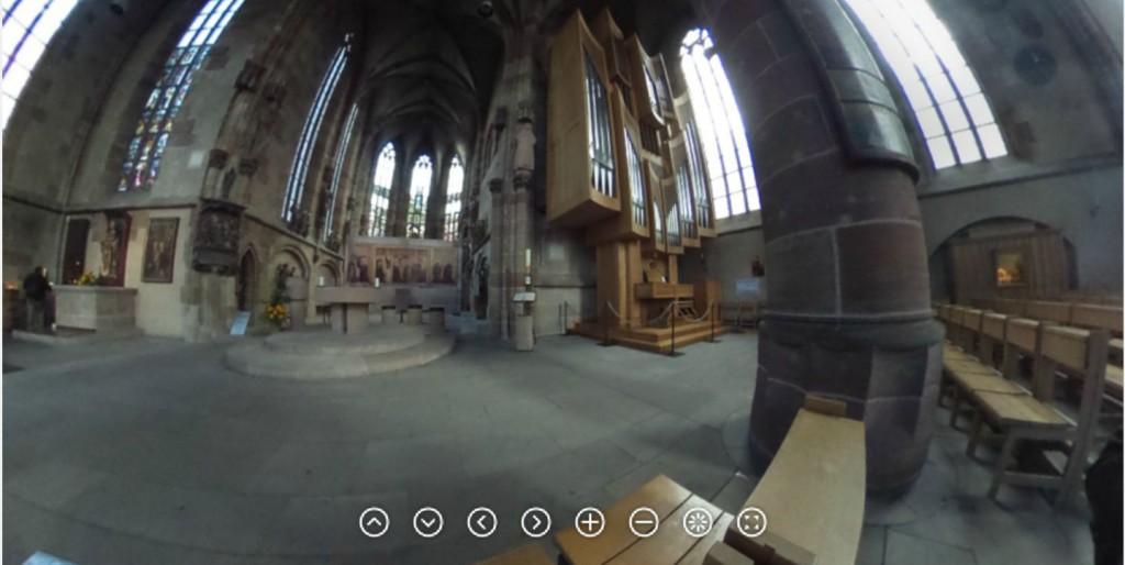 Screenshot von einer 360-Grad-Aufnahme