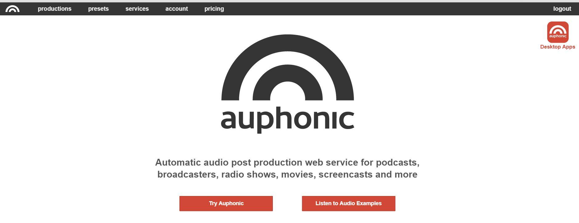 Auphonic – unverzichtbarer Helfer für Podcaster