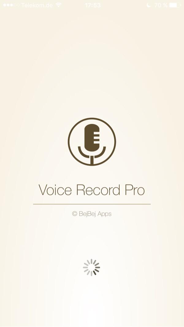VoiceRecorderPro - Die App die checkt wenn du nicht sprichst